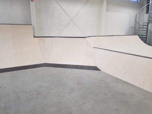 Invigning av nya skatehallen i Skellefteå 6