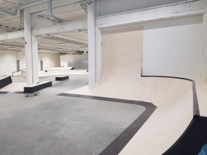 Invigning av nya skatehallen i Skellefteå 5