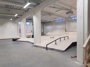 Invigning av nya skatehallen i Skellefteå 4