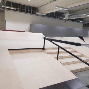 Invigning av nya skatehallen i Skellefteå 3