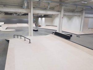 Invigning av nya skatehallen i Skellefteå 2