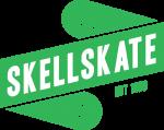 Skellskate logo grön